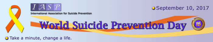 World suicide prevention day…